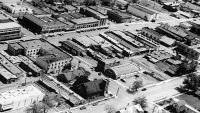 Uptown Susanville from the Air, 1944 ~LIFE Magazine/Getty Colection