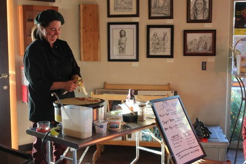 The Crepe Ninja provides catering for non-profit events and can be reached at radicalicecream2gmail.com or by calling 530-207-9100.