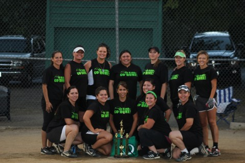 Womens Slowpitch Champions