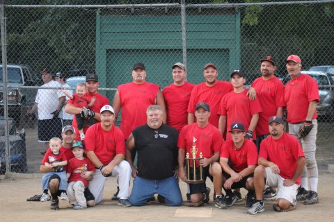 Mens Slowpitch Upper Division Champions