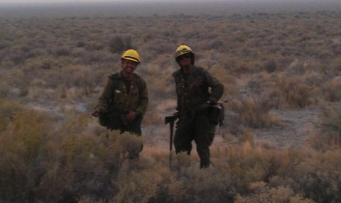 Rush Fire Crew, Photo Taken by Buddy Blosser.