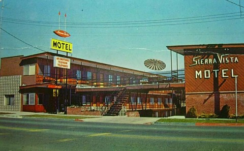 The Sierra Vista Motel in 1959