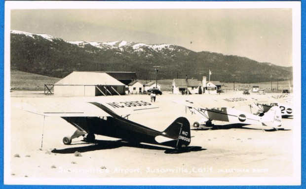 The Susanville Airport in the early 1940's