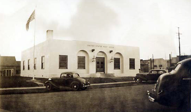 Susanville's Post Office in the late 1930's
