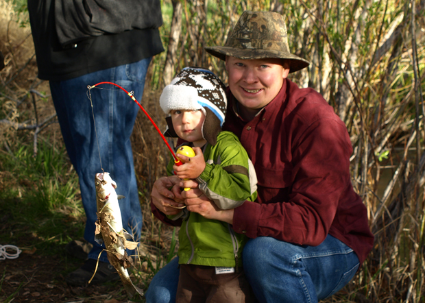 The Sportsmen's Club Junior Fishing Derby has become a annual family tradition in Susanville.