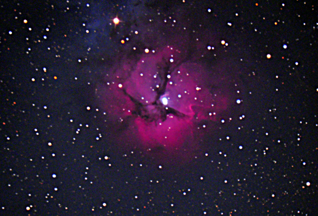 Dr. Bateson's astrophoto of the Trifid Nebula