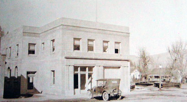 Susanville's City Hall and Fire Department in the mid-1920's. ~From a photo postcard