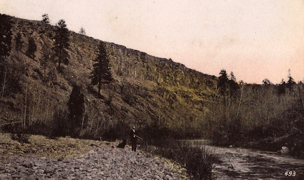 Hunting along the Susan River just west of Susanville