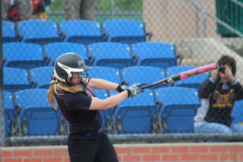 Jessie Kerby with a solo home run