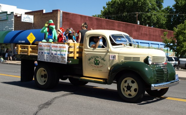 The 2015 Doyle Days royalty made an appearance in the 2015 Lassen County Fair Parade on July 18th.