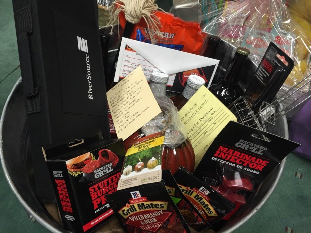 Gift basket ideas for raffle prizes over $100