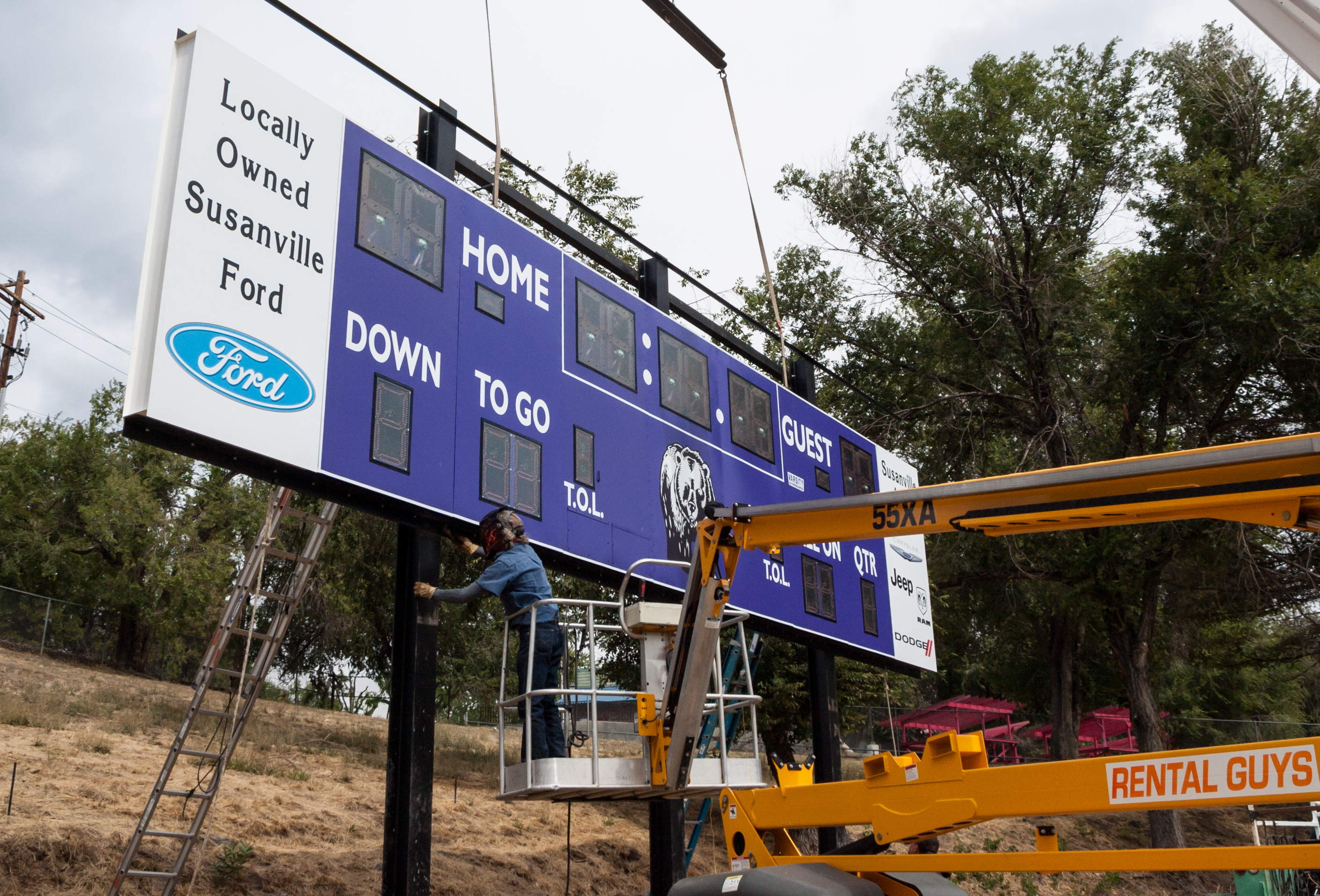 Arnold Field Gets A Huge New Scoreboard Thanks To