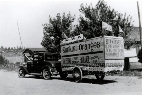 Long before the spotted owl Susanville's timber based economy was hit hard by the use of cardboard boxes instead of wooden crates!