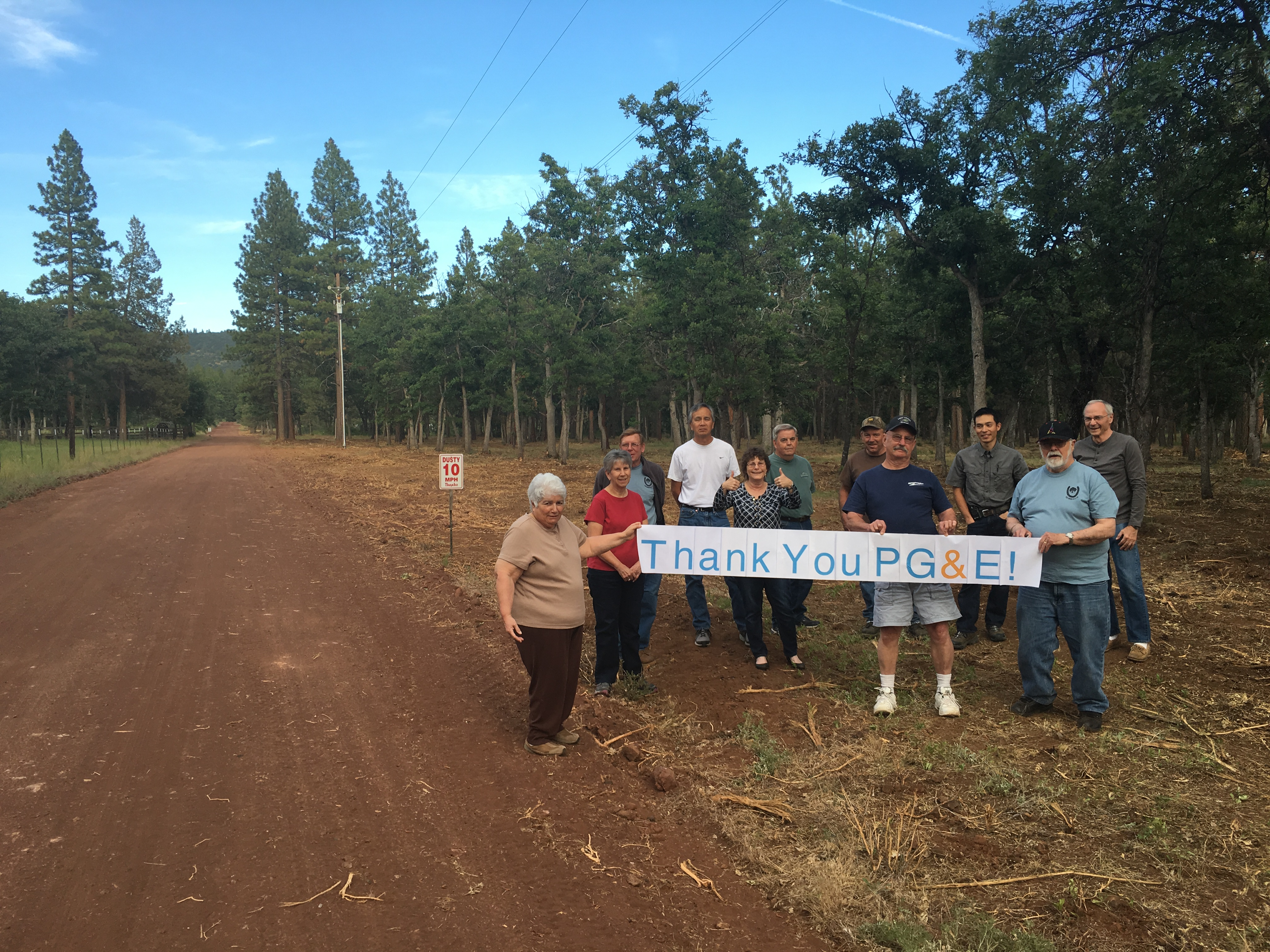 PG&E Funds Two Lassen County Fire Safe Council Fuel ...