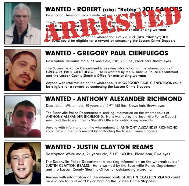 Crime Stoppers Update for Tuesday, January 31st