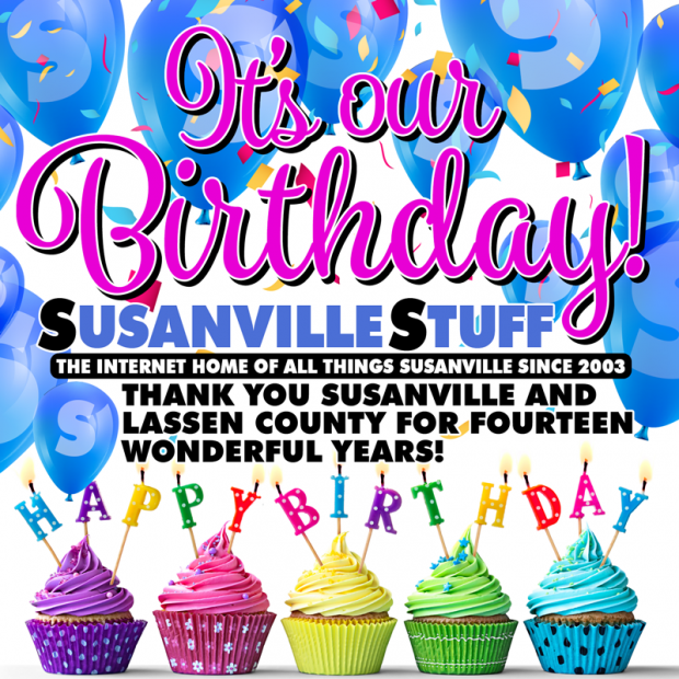 today september 22nd we at susanvillestuff begin our 15th year as the internet home of all things susanville a decade and a half of fun event galleries