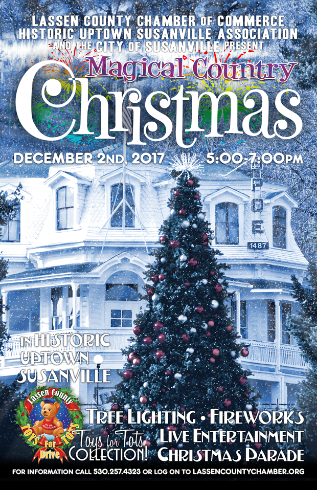 the holiday season has arrived and this saturday december 2nd the annual lassen county chamber of commerce magical country christmas celebration will be - Colorado Country Christmas