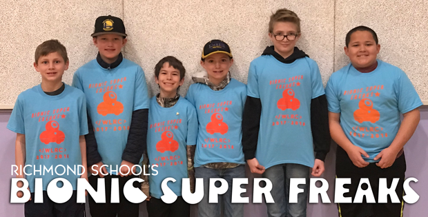 Richmond 5th Grade Bionic Super Freaks Competing In National