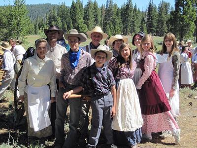 LDS Church Pioneer Handcart Commemoration ...