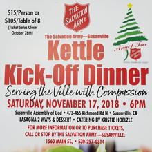 Mark Your Calendar: Salvation Army Announces Kettle Kick-Off