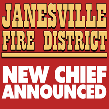 Janesville Fire Names Ehrlich as New District Chief