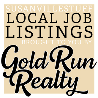 Job Announcement: Susanville Indian Rancheria: Registered